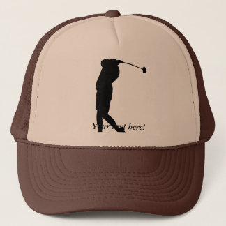 Boné Jogador de golfe