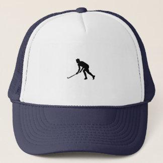Boné Jogador de hóquei da grama