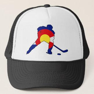 Boné Jogador de hóquei de Colorado