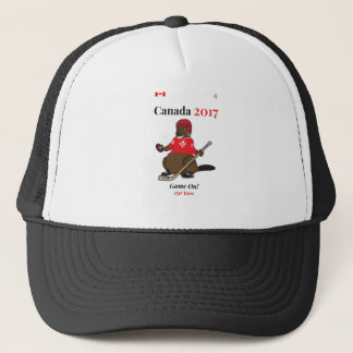 Boné Jogo de hóquei do castor de Canadá 150 em 2017