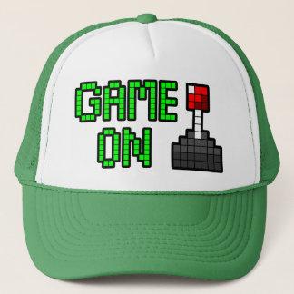 Boné Jogo no chapéu do camionista