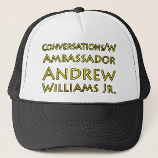 Boné Jr. das conversações w/Ambassador Andrew Williams