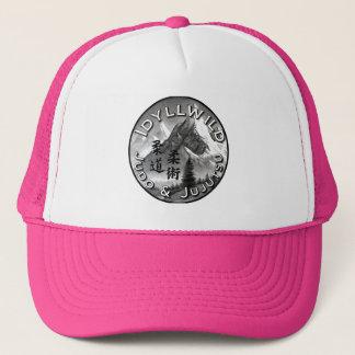 Boné Judo de Idy e chapéu do camionista do logotipo de
