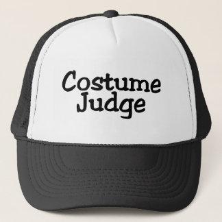 Boné Juiz do traje