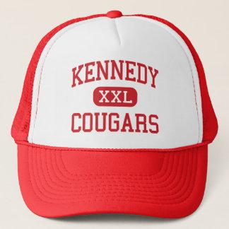 Boné Kennedy - pumas - meio - Cupertino Califórnia
