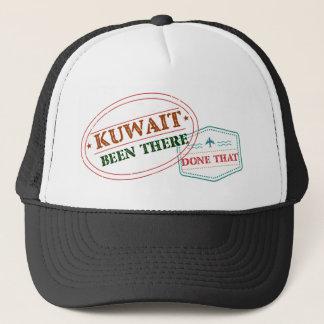 Boné Kuwait feito lá isso