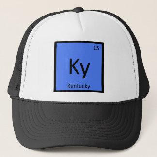 Boné KY - Mesa periódica da química do estado de