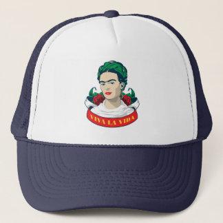 Boné La Vida de Frida Kahlo   Viva