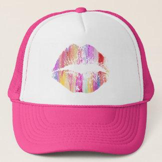 Boné Lábios à moda #11