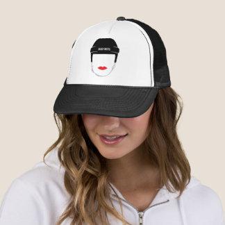 Boné Lábios da cara do capacete do hóquei das mulheres
