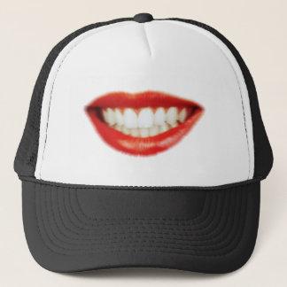 Boné Lábios vermelhos