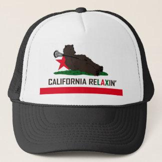 Boné Lacrosse do urso de Califórnia