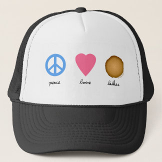 Boné Latkes do amor da paz