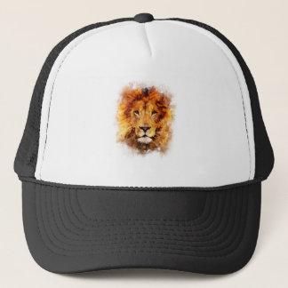 Boné Leão Aquarela