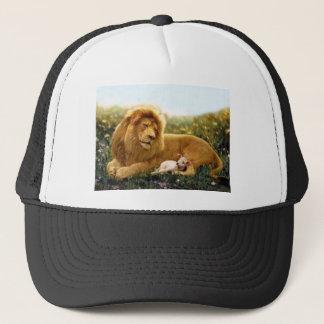 Boné Leão e cordeiro