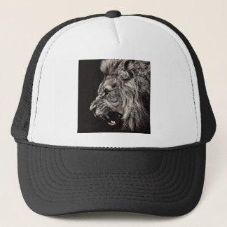 Boné Leão masculino irritado