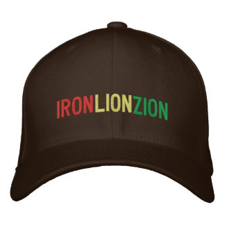 Boné LEÃO ZION do FERRO (chapéu)