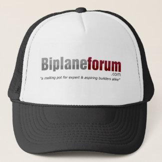 Boné legal do fórum do biplano