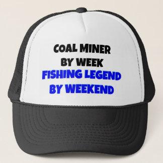Boné Legenda da pesca do mineiro de carvão