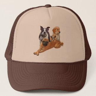 Boné Legião do cão com gato
