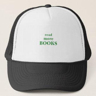 Boné Leia mais livros