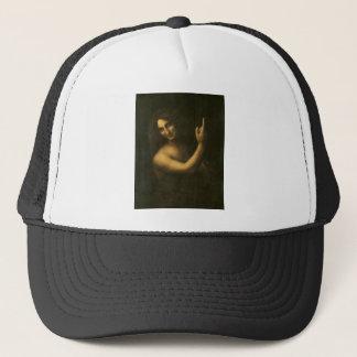 Boné Leonardo da Vinci - pintura de John The Baptist do