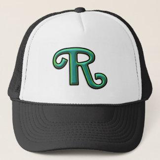 """Boné Letra verde """"R """""""