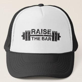 Boné Levante o bar, Barbell - exercício do Gym