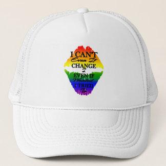 Boné LGBTQIA que eu não posso mudar mesmo se eu quis a