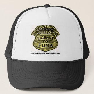 Boné Licença ao chapéu do funk