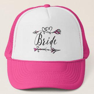 Boné Líder do rosa quente do chapéu do camionista do