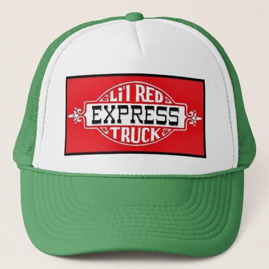 Boné Lil Red Truck vermelho