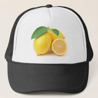 Boné Limões amarelos brilhantes & frescos