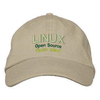 Boné LINUX: Open Source, mente aberta