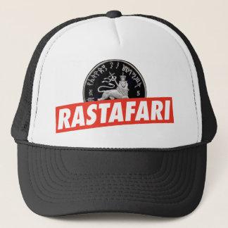 Boné Lion of Judah - Jah Rastafari reggae Trucker Cap -