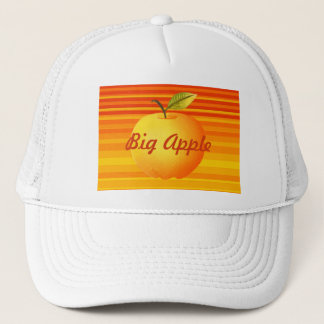 Boné Listras artísticas da fruta vibrante grande dos