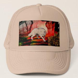 Boné Lobo branco - lobo ártico - lobo americano