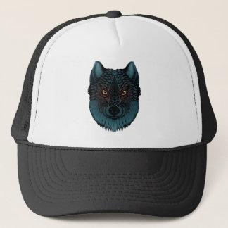 Boné Lobo com olhos de incandescência