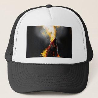 Boné Lobo do fogo