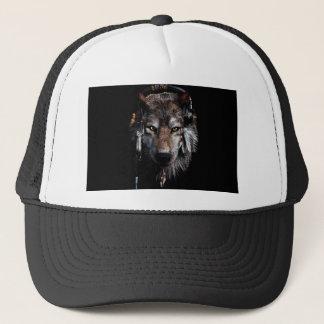 Boné Lobo indiano - lobo cinzento