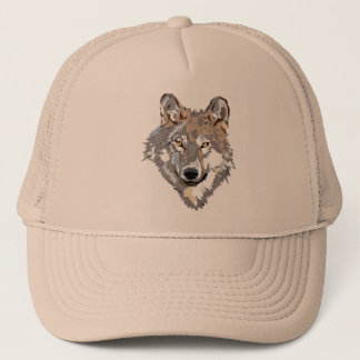 Boné Lobo principal - ilustração do lobo - lobo