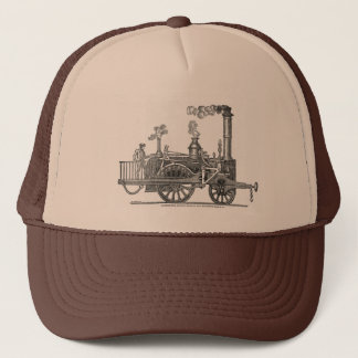 Boné Locomotiva de vapor adiantada