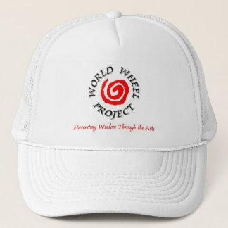 Boné Logotipo 1/Hat do projeto da roda do mundo