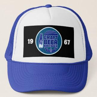 Boné Logotipo azul do cervejeiro -1967 da cerveja do