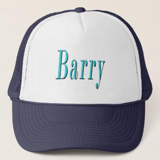 Boné Logotipo conhecido azul de Barry,