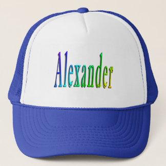 Boné Logotipo conhecido colorido de Alexander,