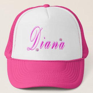 Boné Logotipo conhecido das meninas de Diana,
