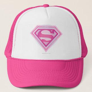 Boné Logotipo cor-de-rosa de Supergirl