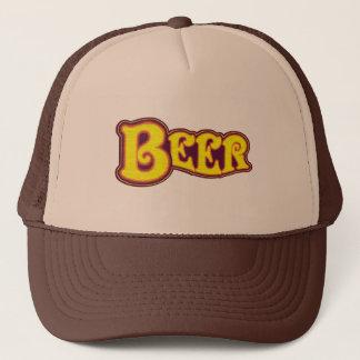 Boné Logotipo da cerveja - amarelo