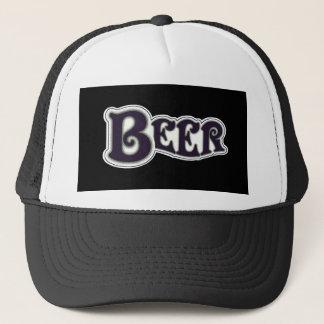 Boné Logotipo da cerveja - preto & branco